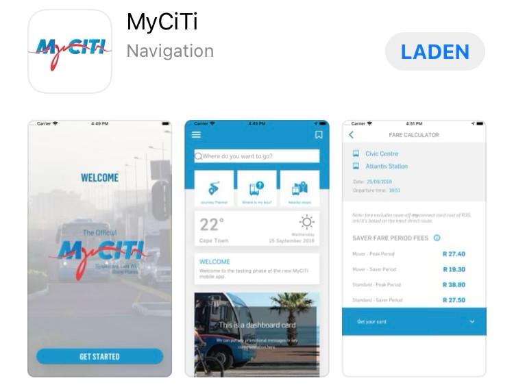 Mit MyCiti Bus überall hin in Kapstadt