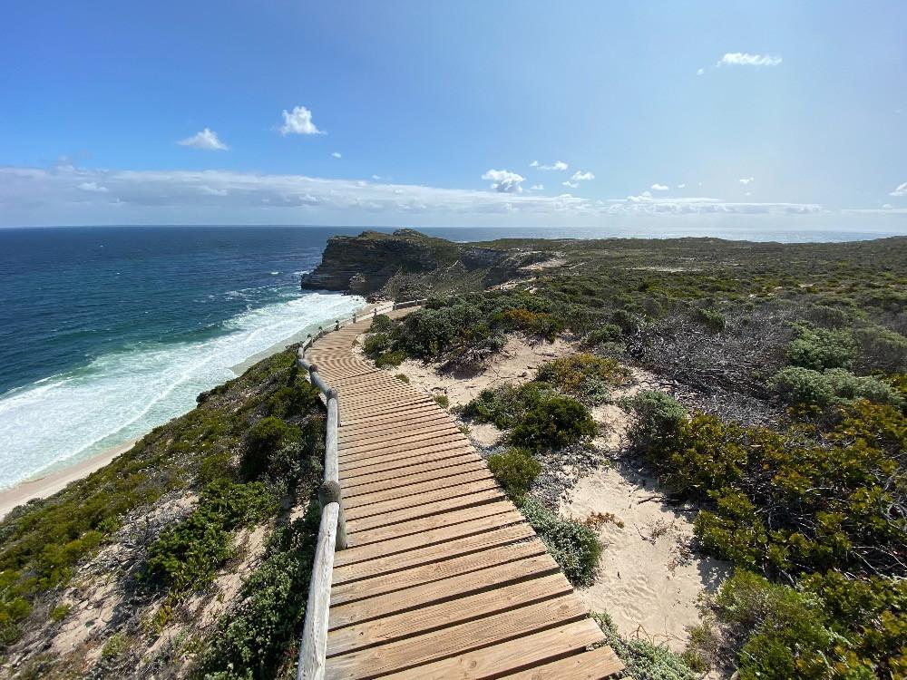 Das schönste Ende der Welt: Boardwalk am Kap der Guten Hoffnung