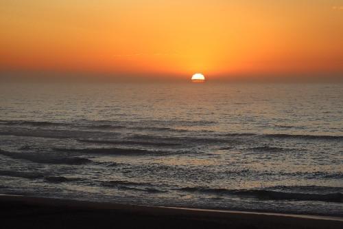 Sonnenuntergang in Plettenberg Bay