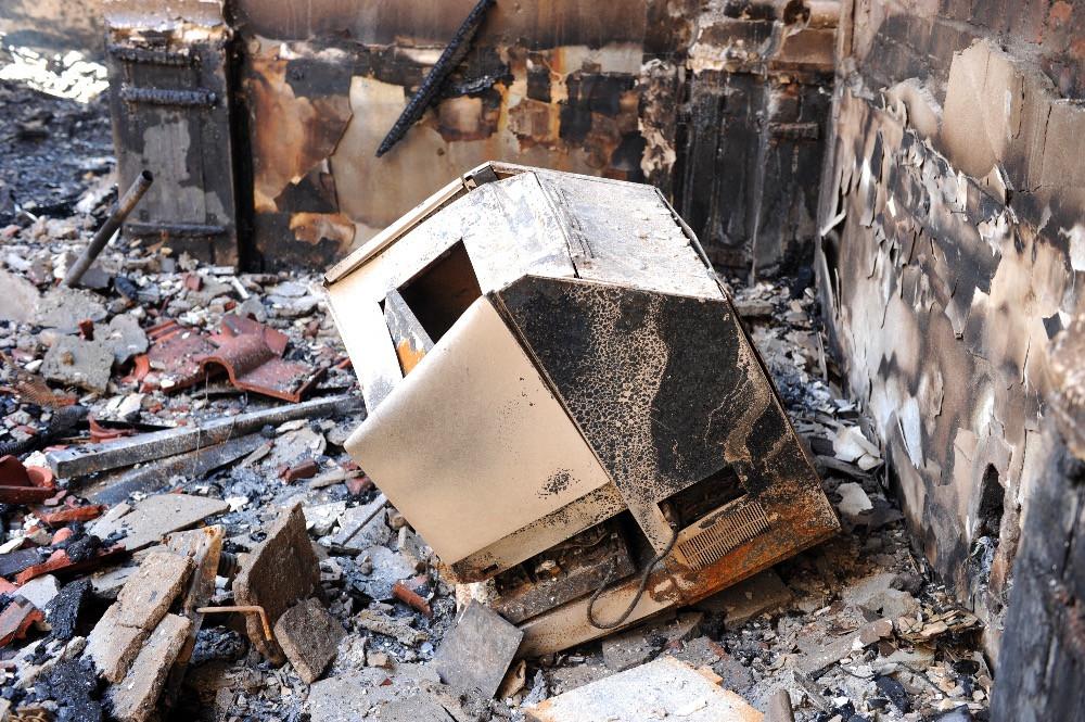 Das Feuer hat auch den Lesesaal zerstört. Foto Jagger-Bibliothek Kapstadt