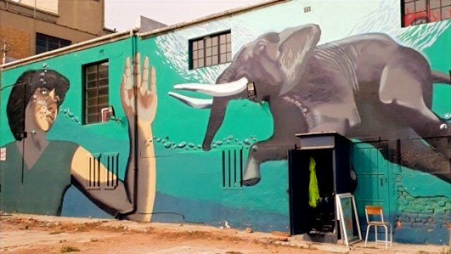 Woodstock Street Art in Kapstadt