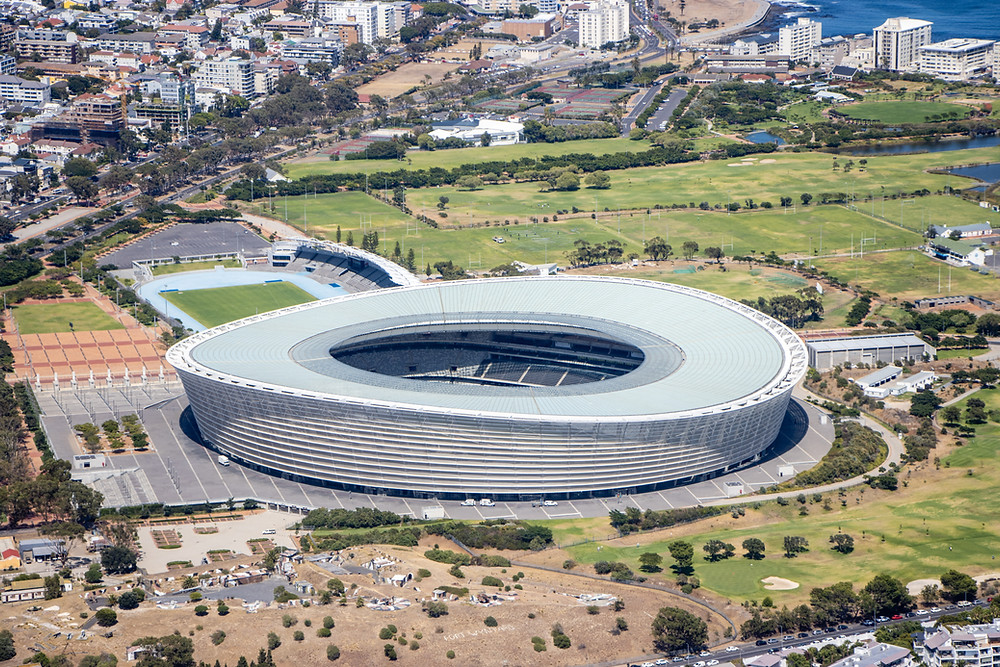 Das Cape Town Stadion in Green Point
