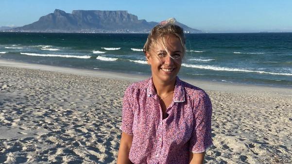 Freiwilligenhelferin Lisa Siewert in Kapstadt