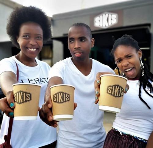 Noch kommen Kunden zu Siki ins Café