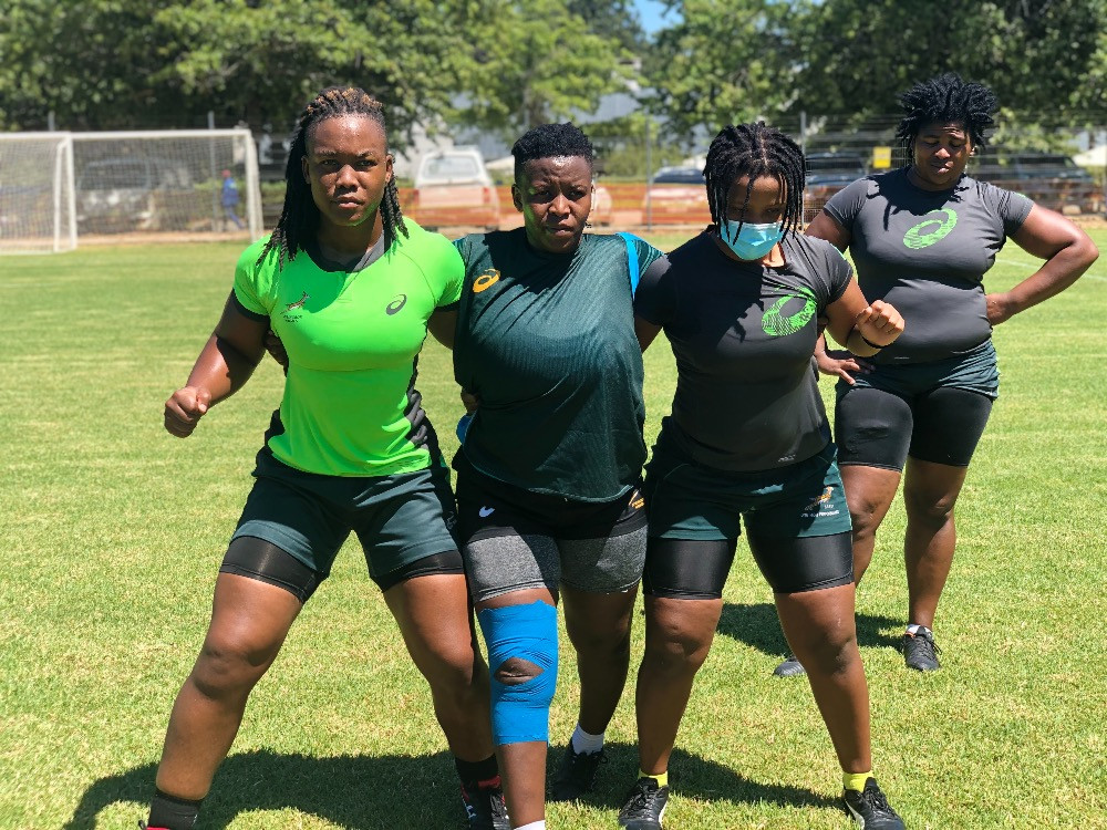 Frauen-Rugby ist eine junge Sportart in Südafrika