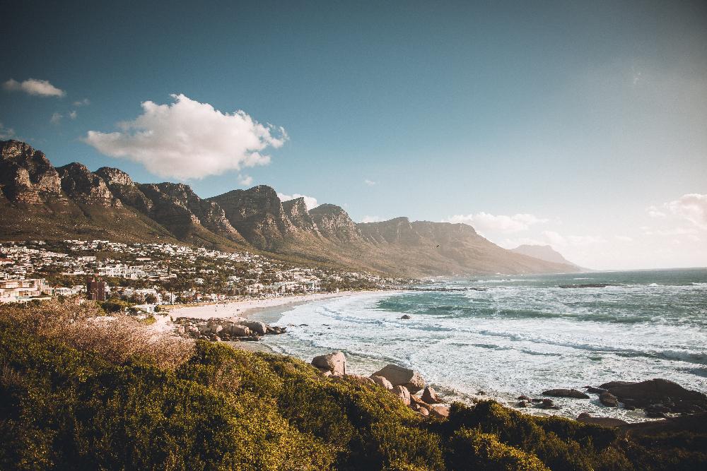 Ein Strand voller Glück: Blick auf Camps Bay