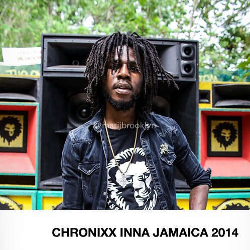 『CHRONIXX INNA Jamaica 2014』 写真集