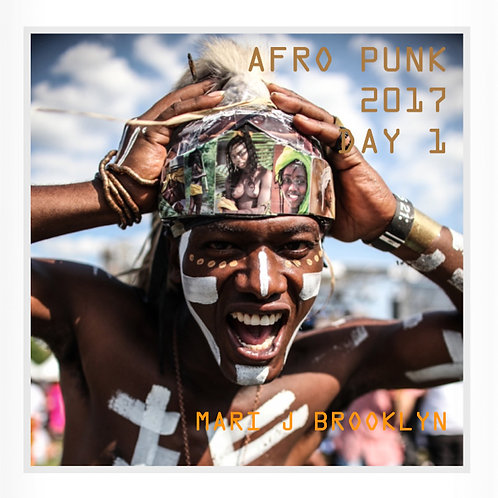 『AFRO PUNK 2017』 DAY 1