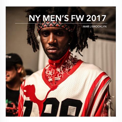 『NY Men's Fashion Week 2017』 写真集