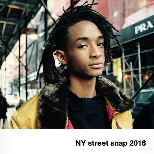 『NY STREET SNAP 2016』 写真集
