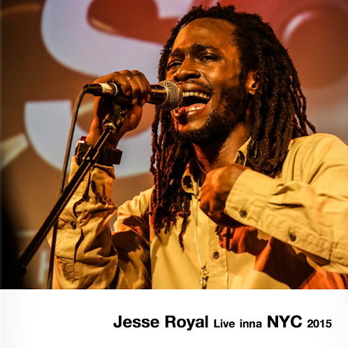 『JESSE ROYAL LIVE INNA NYC 2015』写真集