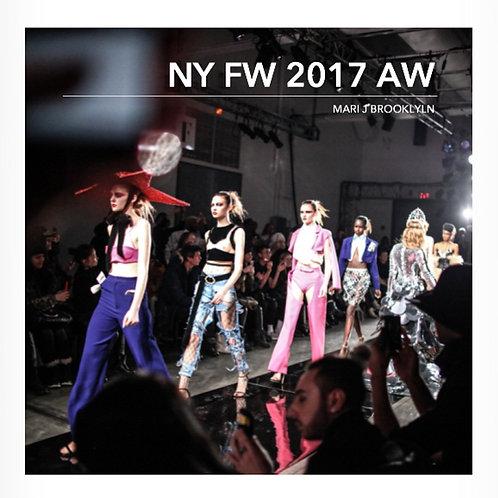 『NY Fashion Week 2017 AW』 写真集