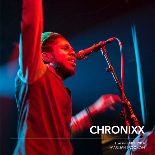 『CHRONIXX LIVE INNA NYC 2014』写真集