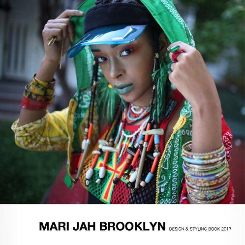『MARI JAH BROOKLYN STYLE BOOK 2017』写真集