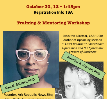 Academia Training/Mentoring