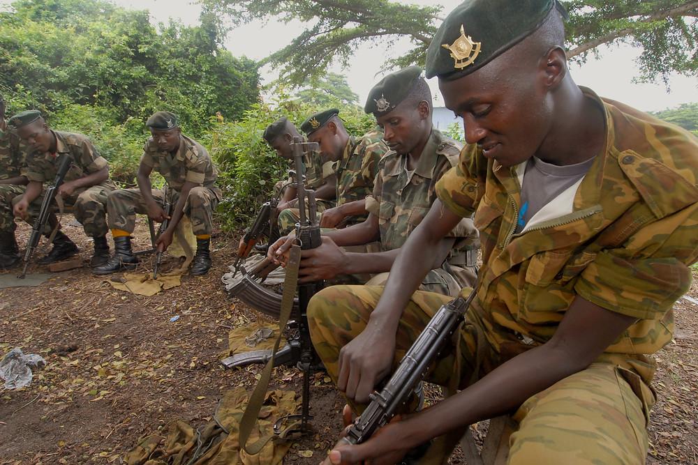 Burundi peacekeepers prepare for next rotation to Somalia, Bjumbura