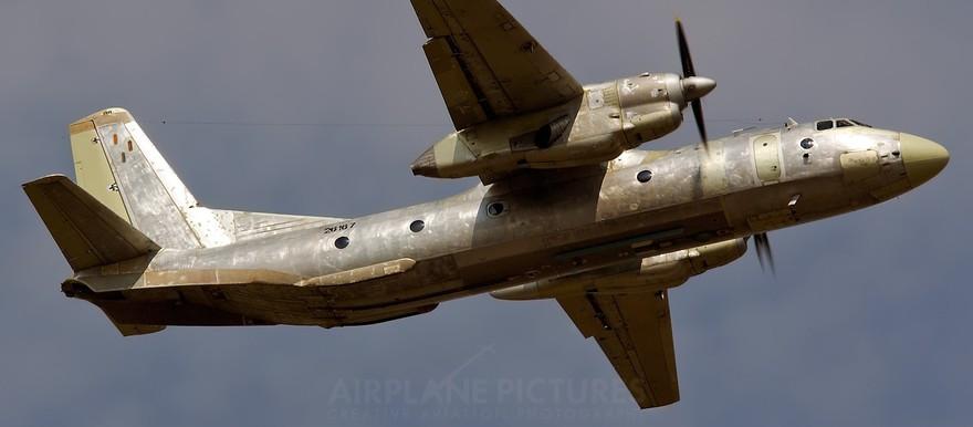 "Antonov cargo aircraft, retrofitted as a ""bomber"" (File photo: Vladimir Mikitarenko)"