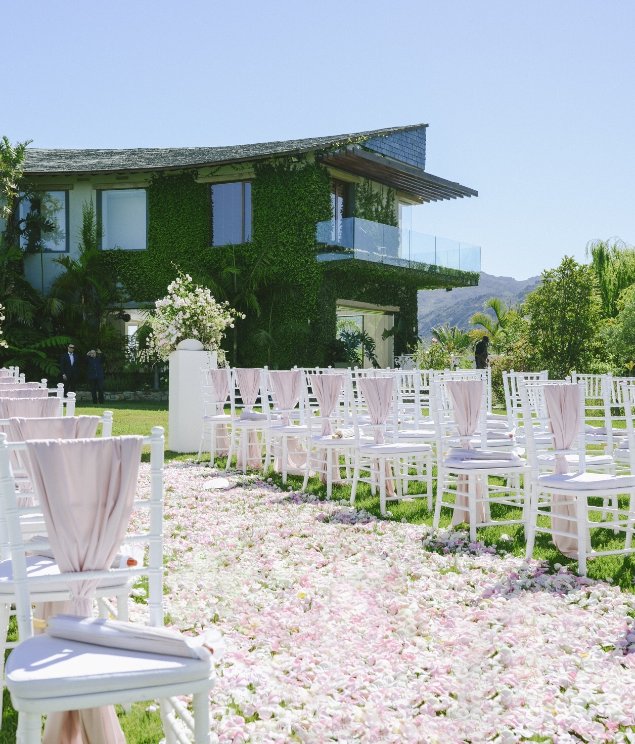pastel wedding by cape town planner
