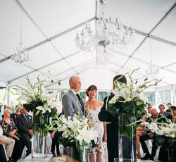 garden wedding by cape town planner