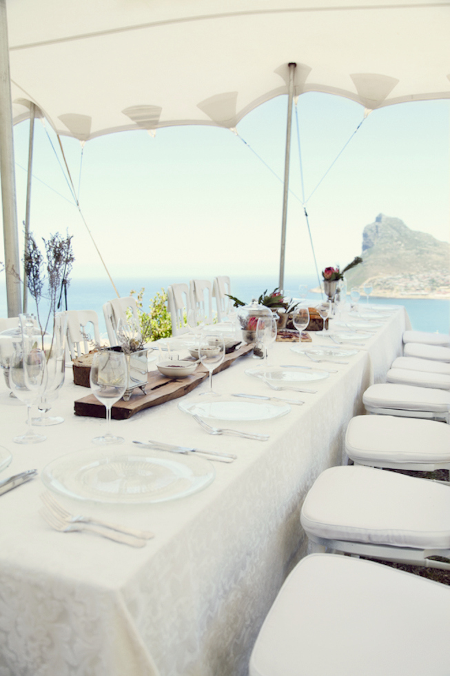 nature wedding by cape town planners