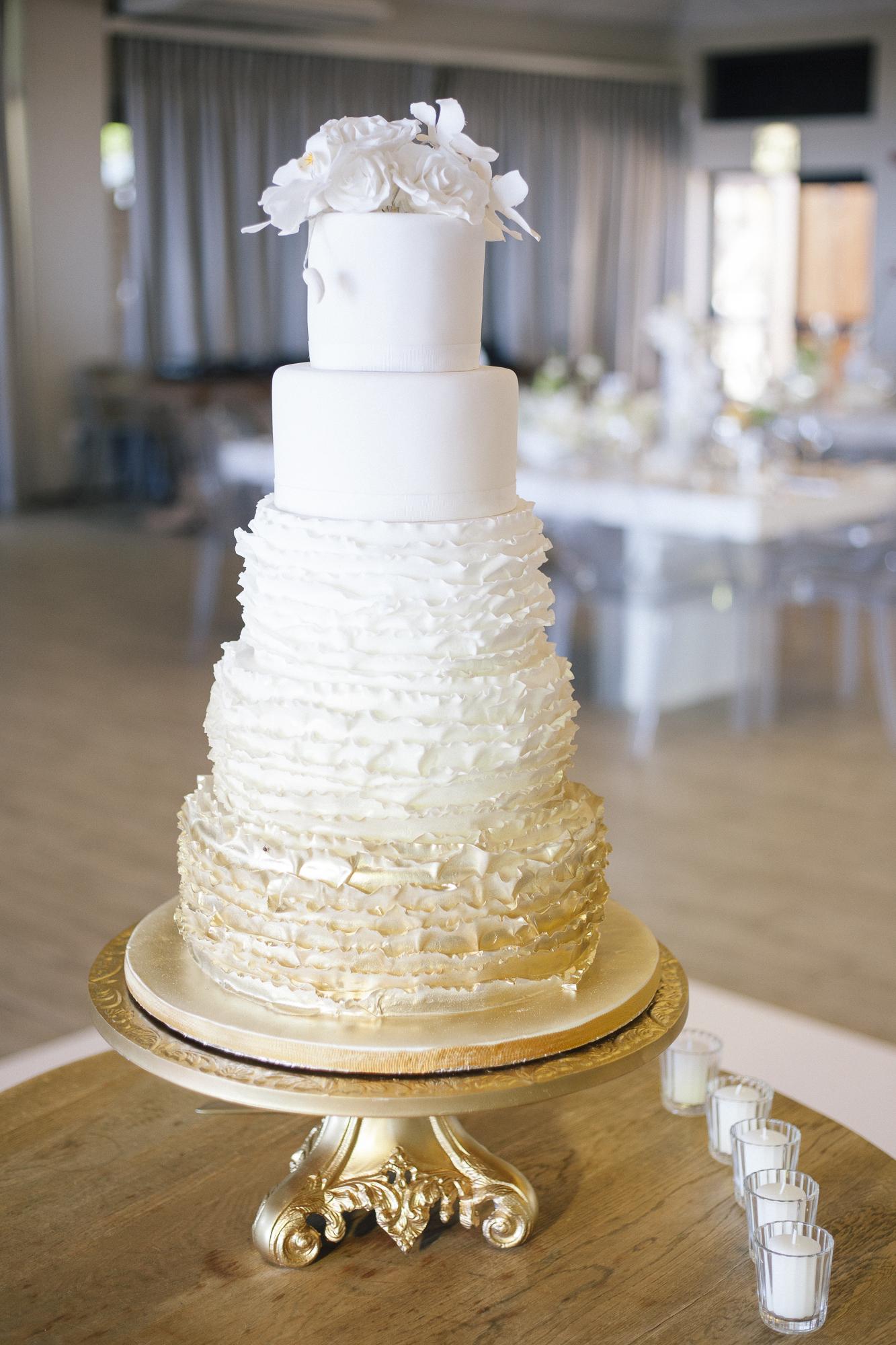 modern wedding planned by planner