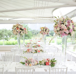 luxury wedding by cape town planner