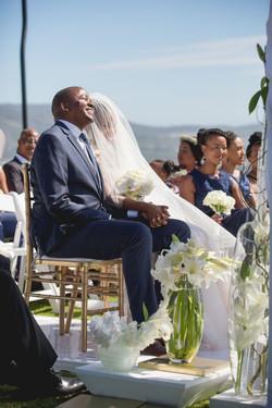 modern wedding by cape town planner