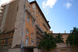Facade Restoration at the Historical Biltmor Hotel