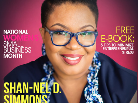 National Women's Small Business Month: Meet Shan-Nel D. Simmons, EA MBA