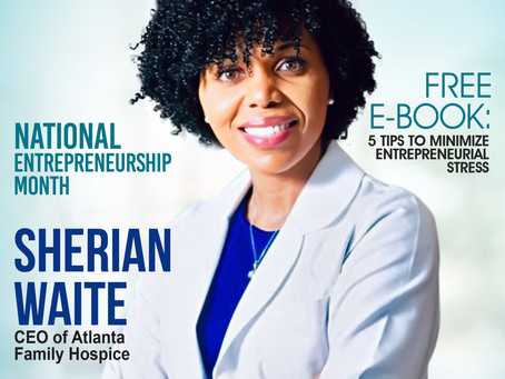 National Entrepreneurship Month: Meet Sherian Waite