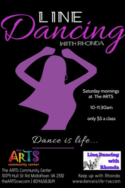 Line Dance with Rhonda Flyer-4Q