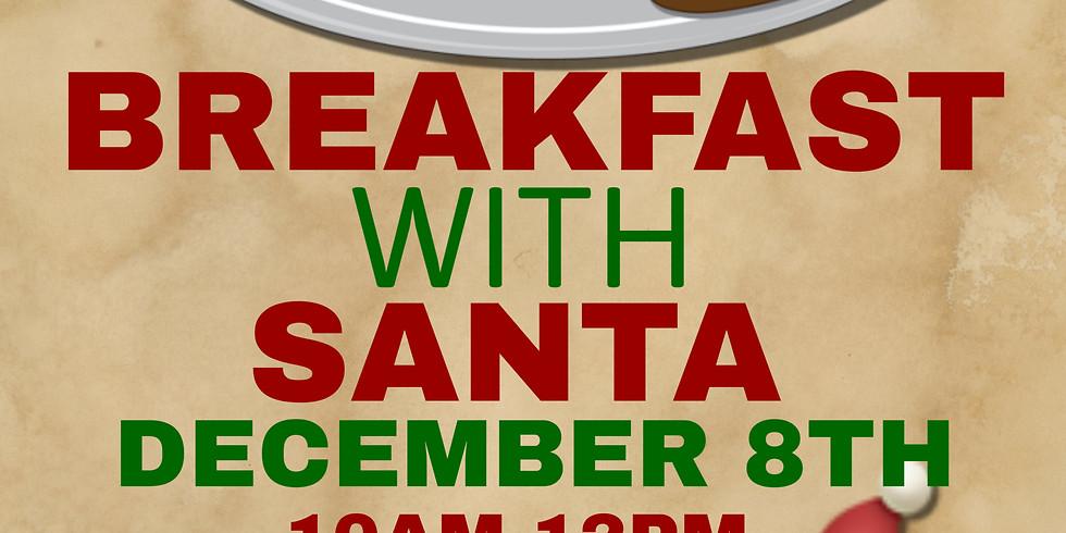 Breakfast with Santa at The ARTS!
