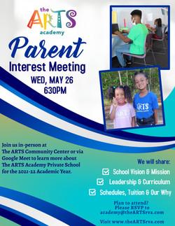 Parent Interest Meeting