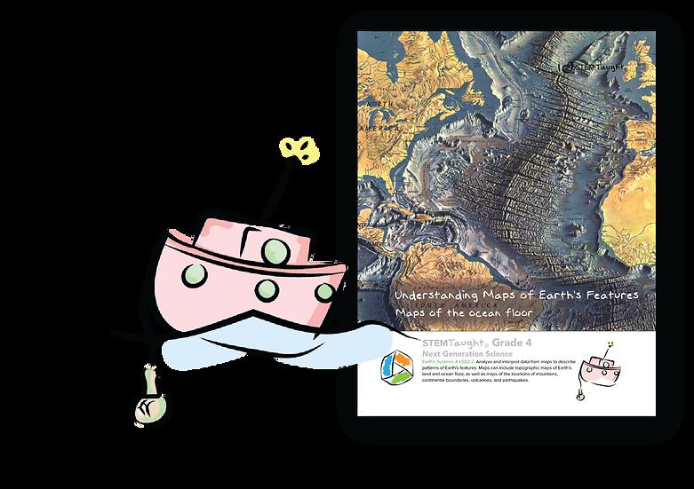 Understanding Maps of Earth's Features