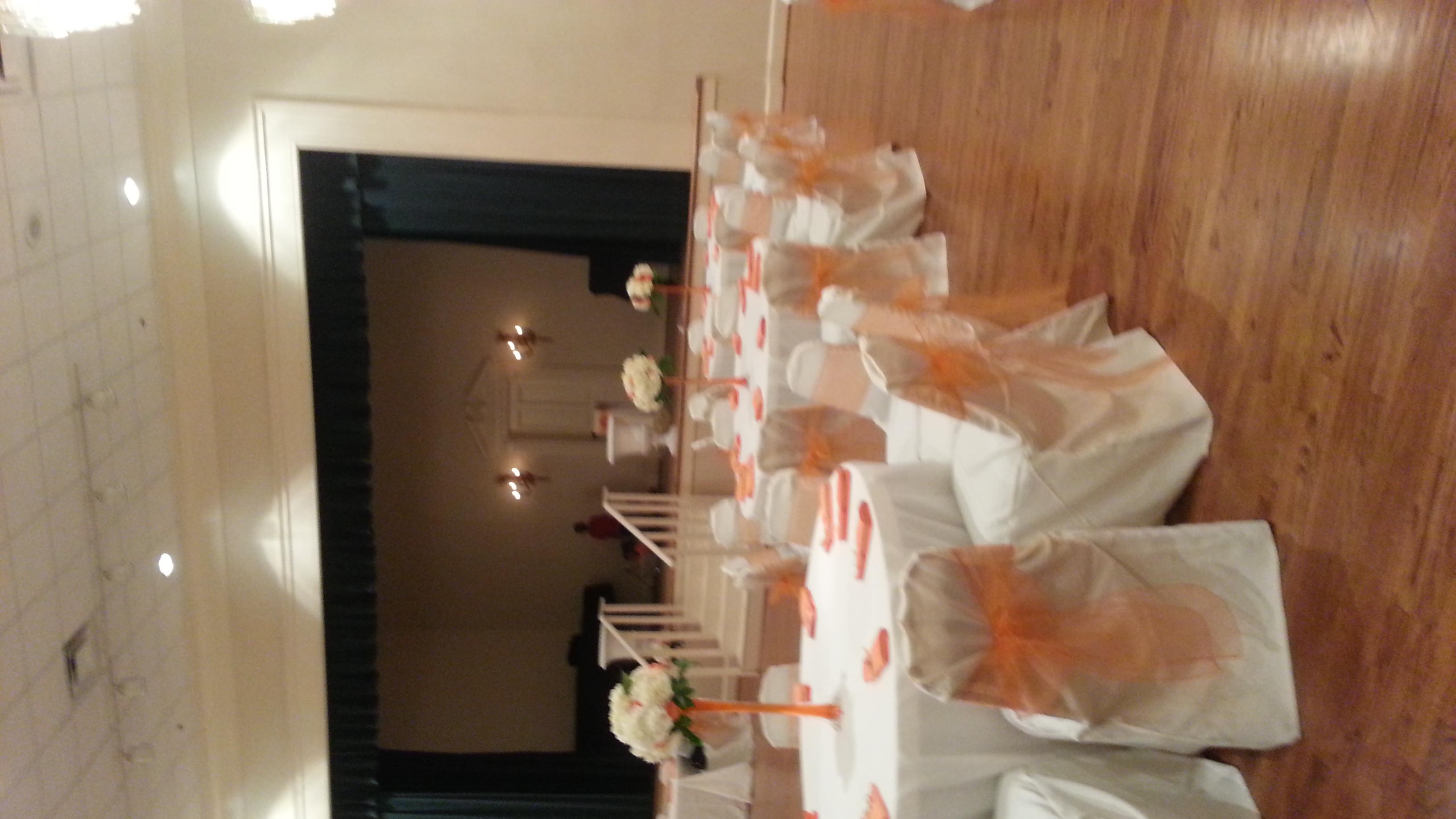 Friday Musicale Wedding decor