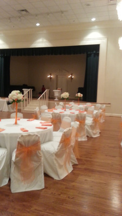 Friday Musicale Wedding decor