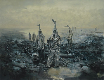 Valley of the Kings, 2013, oil on canvas, 135x175cm