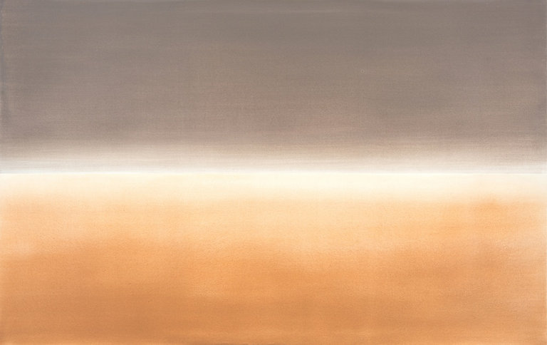 from the series Landscapes, 2018, acrylic on canvas, 70 x 230 cm