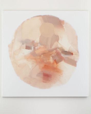 Iduška, 2018, acrylic on canvas, 185 x 185 cm