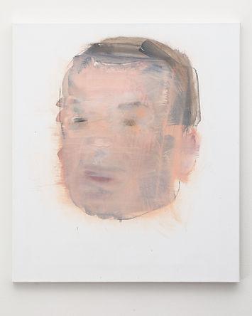 Martin, 2017, acrylic on canvas, 65 x 57 cm