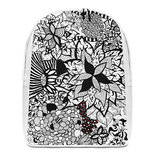 Flower Mix Minimalist Backpack