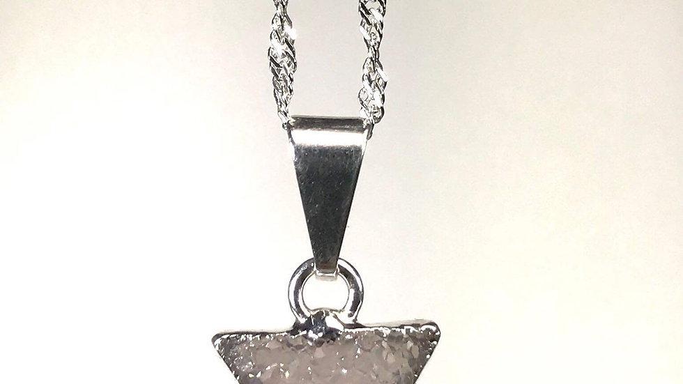 Druzy Triangle Pendant (SM) SJP00065