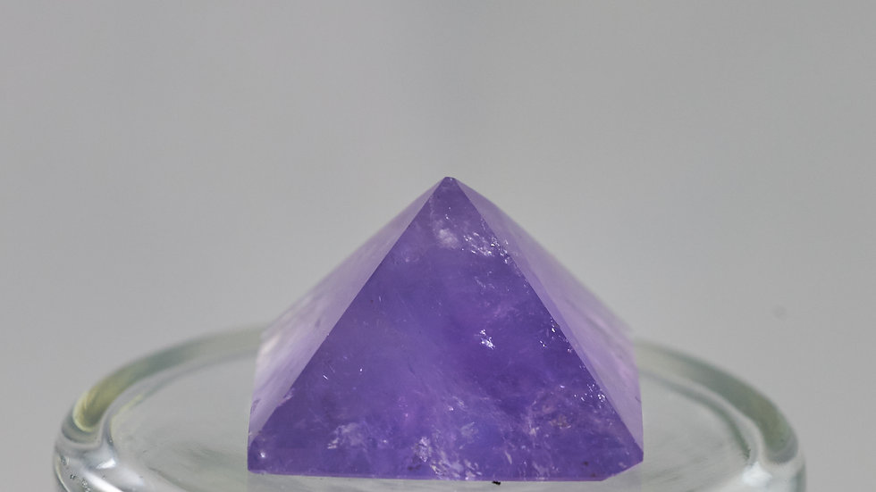 Natural Amethyst Crystal Pyramid  C00004