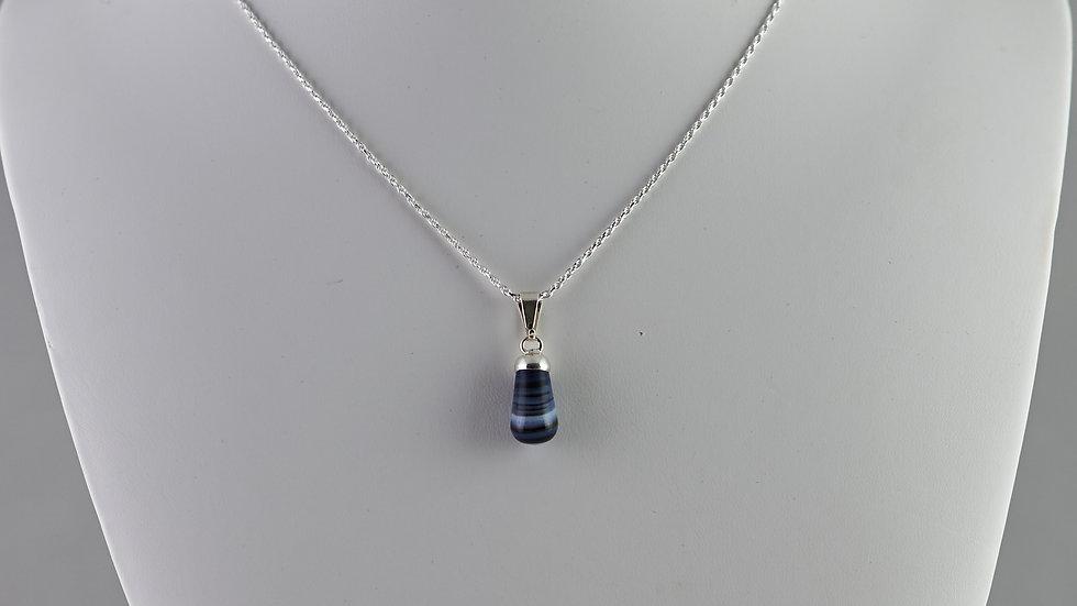 Agate Bullet Pendant SJP00015