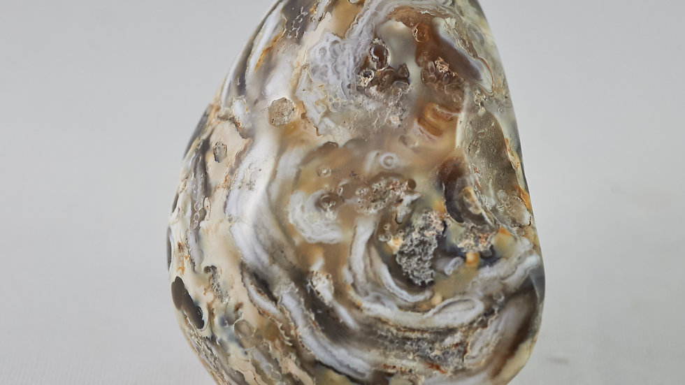 Agate Half Sliced Geode C00010