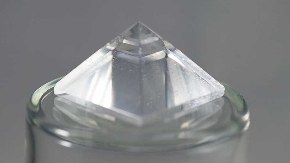 Natural Crystal Quartz Pyramid C00001
