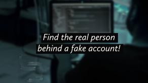 How to find out who's behind a Fake Account? [Complete Guide]