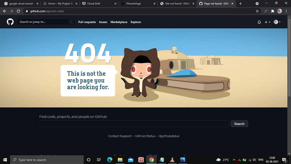 Deleted GitHub Repository of the hacker