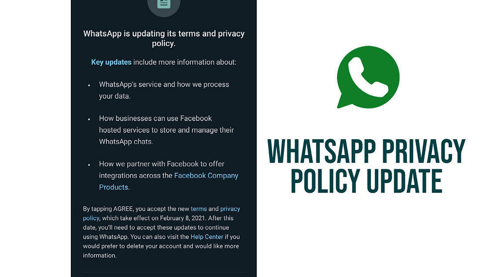 WhatsApp Privacy Policy Update