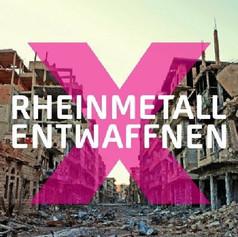 Rheinmetall-Entwaffnen Camp